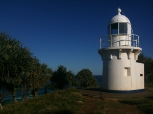 Lighthouse Fingal Head Tweed
